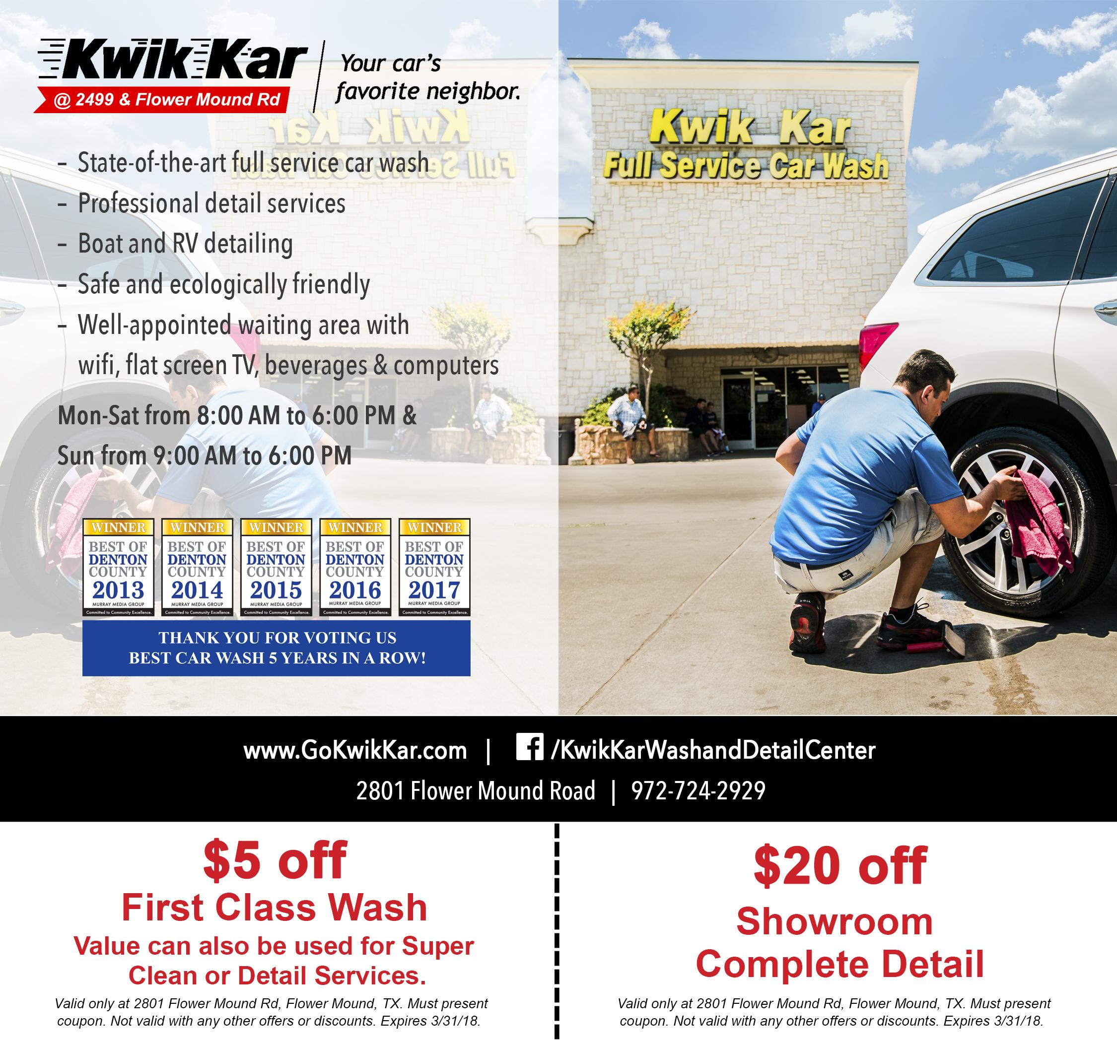 Kwik Kar Wash & Detail Center