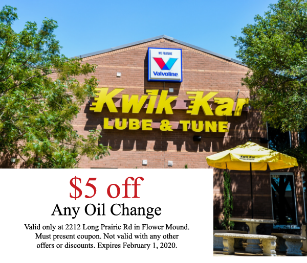 Lube Coupons